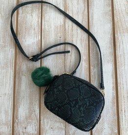 Green Snake Crossbody Bag