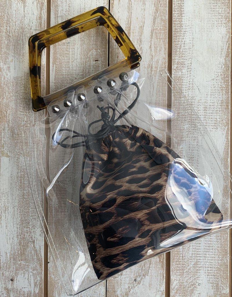 Clear Animal Print HandBag