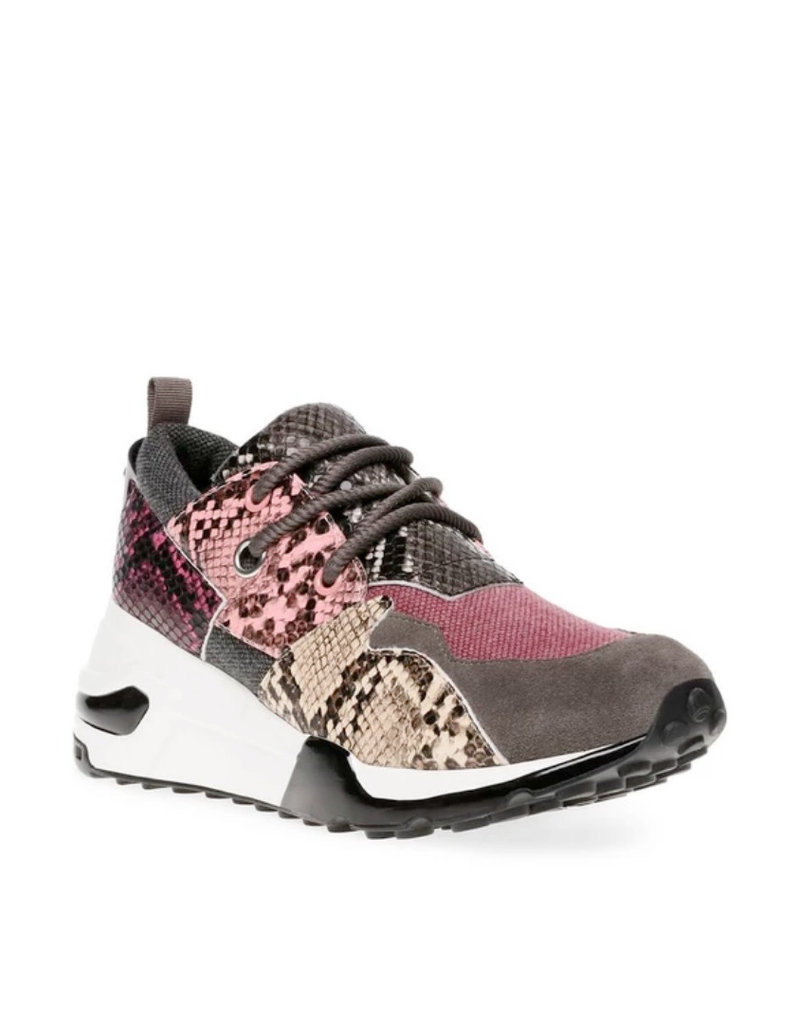 Pink Multi Snake Sneakers Cliff