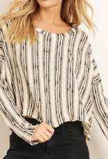 Stripe Sweater Croptop