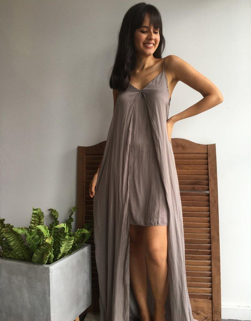 Air Brush Bobble Maxi Dress