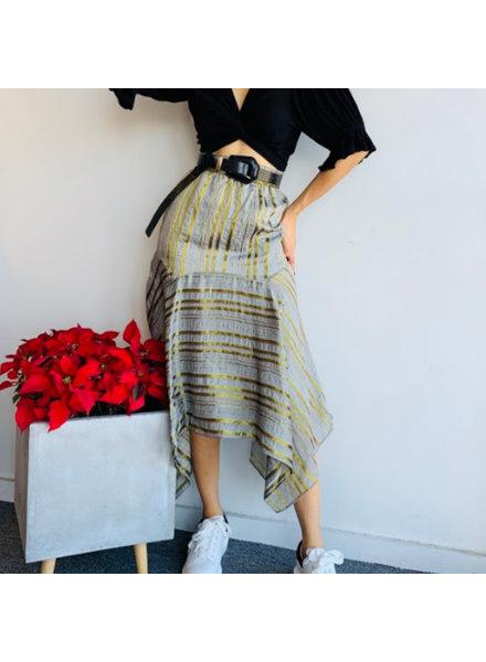 Symmetrical Midi Lenght Skirt