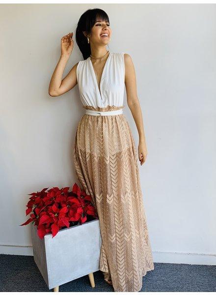 Romper Skirt Maxi Dress