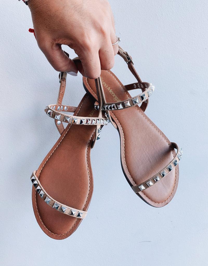 Resort Sandal Studded Leather Nub
