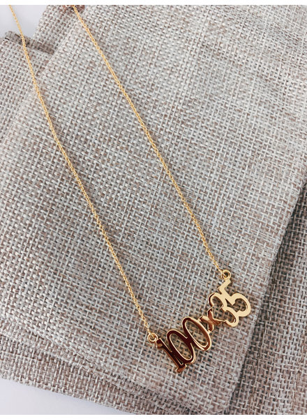 100X35 Gold Necklaces