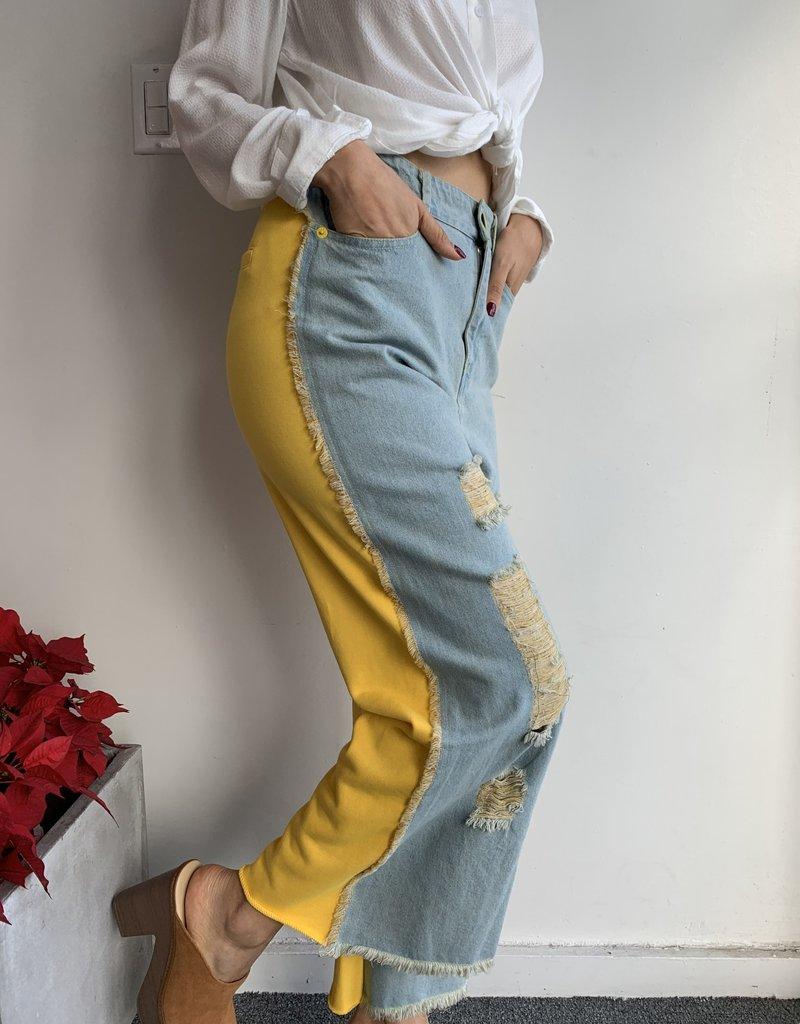 Colorblock Jean