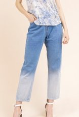 Ombre Washed Denim Pants