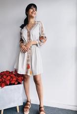 LongSleeve Details Dress