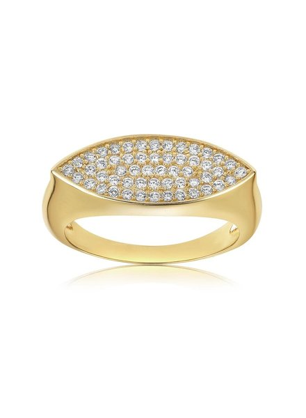 Pave Marquise Ring
