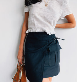 Black Asymetric Skirt