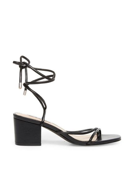 Strappy Silhouette Easy-to-wear Block Heel