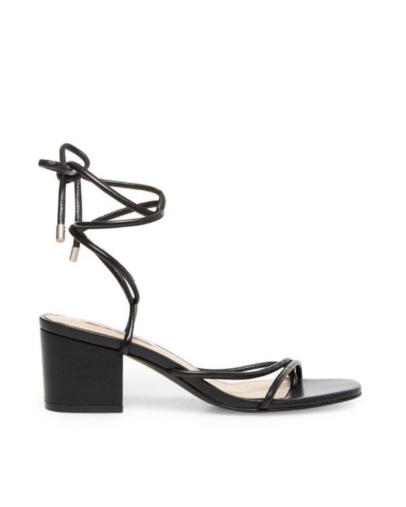 Strappy Silhouette Easy-to-wear Block Heel
