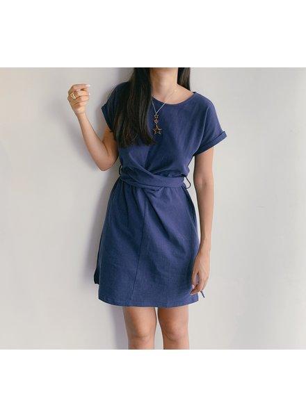 Waist Tie Knit Dress