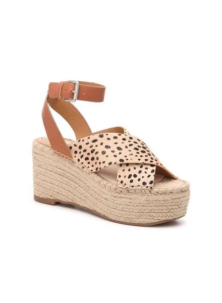 Carsie Wedges In Leopard