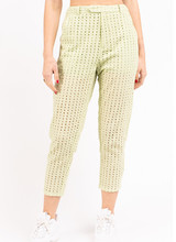 Eyelet Slim Fit Pants w Short Lining