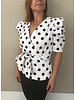 White Top With Black Dots