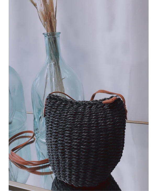 Raffia Small CrossBody Bag