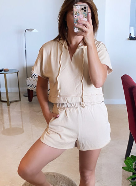 Nude Loungewear Set
