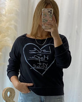 """""""Love+Hope+Peace"""" Graphic Top"""