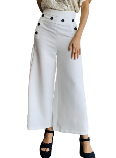 Side Bottom Detail Pants
