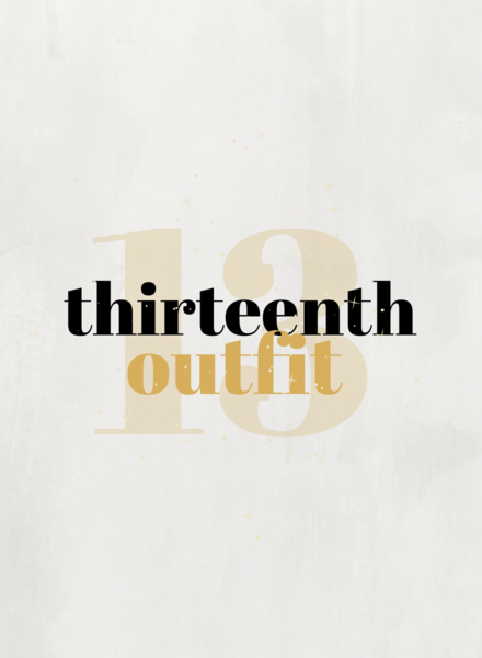 """13th Outfit   """"The Ultimate Classic"""""""