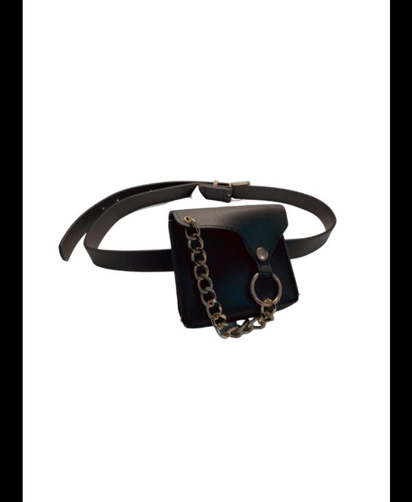 Gold Chain Belt Bag