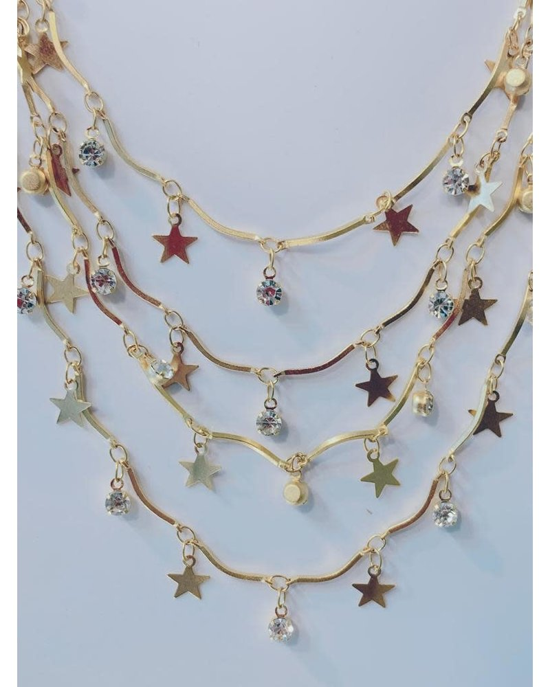 Little Star Shine Layer Necklace