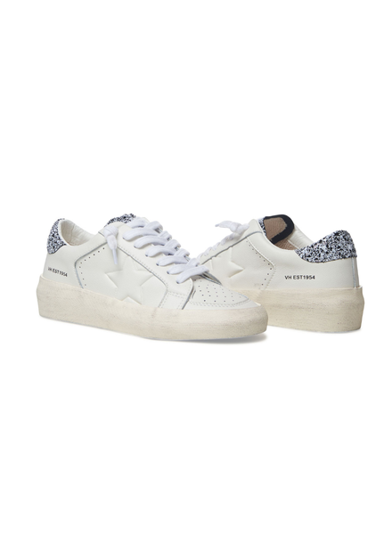 Reflex 4 White And Glitter Sneakers