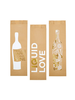 Feeling Happy Because Wine | Paper Wine Bags