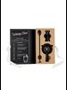 Cardboard Book Set - Matte Black Barware