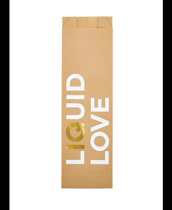 Liquid Love   Paper Wine Bags