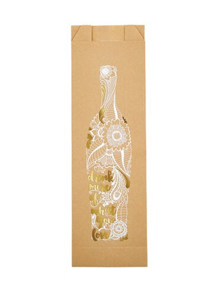 Drink More | Paper Wine Bags