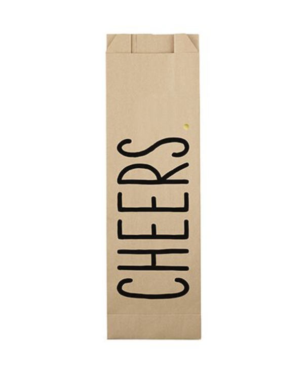 Cheers   Paper Wine Bags