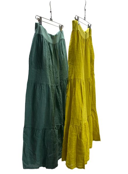 Linen Skirt - One Size