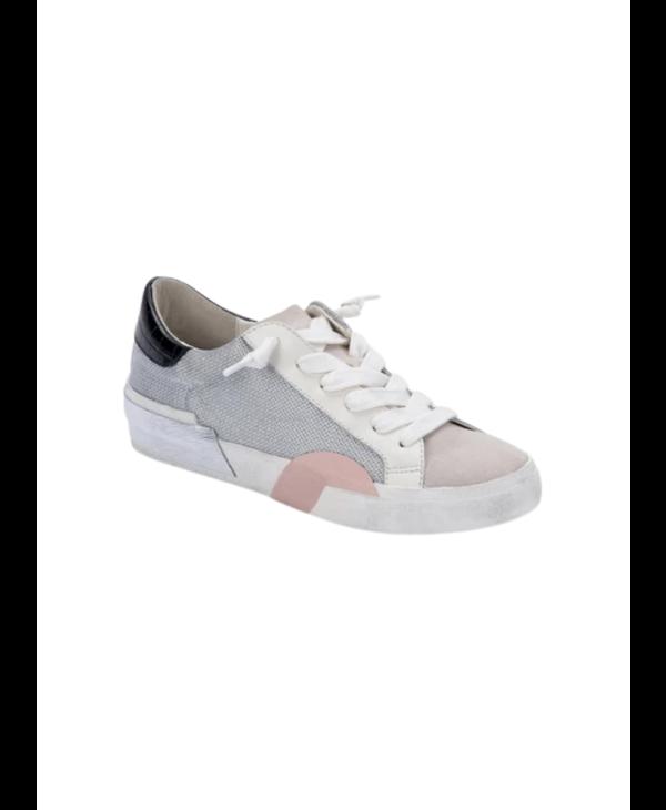 Sneakers in Silver Multi Mesh