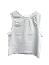 White Crop Top - One Size