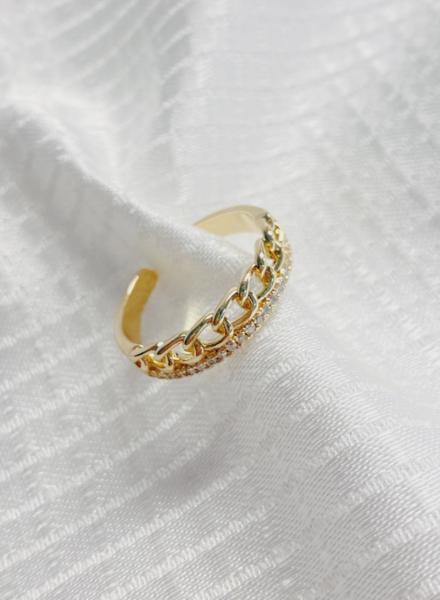 Flat Crown Ring
