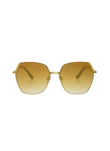 Chelsie Sunglasses-Gold Mirrored