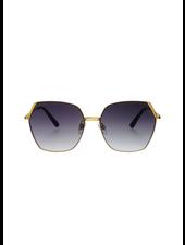 Chelsie Sunglasses Gold/Gray
