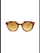 Collins Round Sunglasses-Tortoise