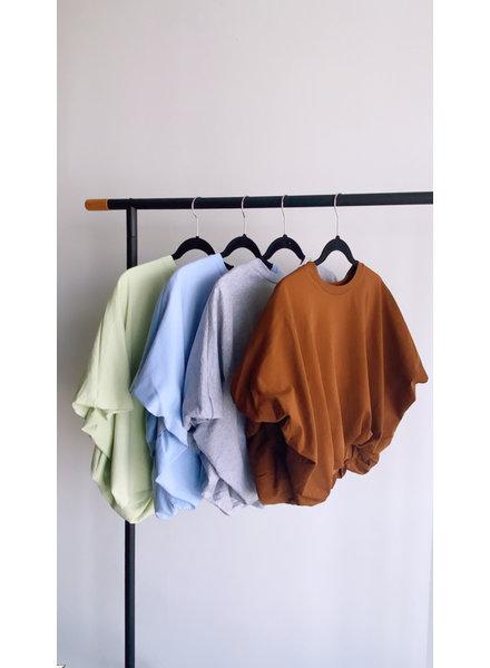 High-Low Cropped TShirt