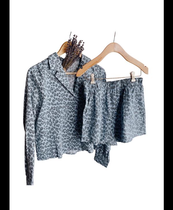 Leopard Print Matching Set