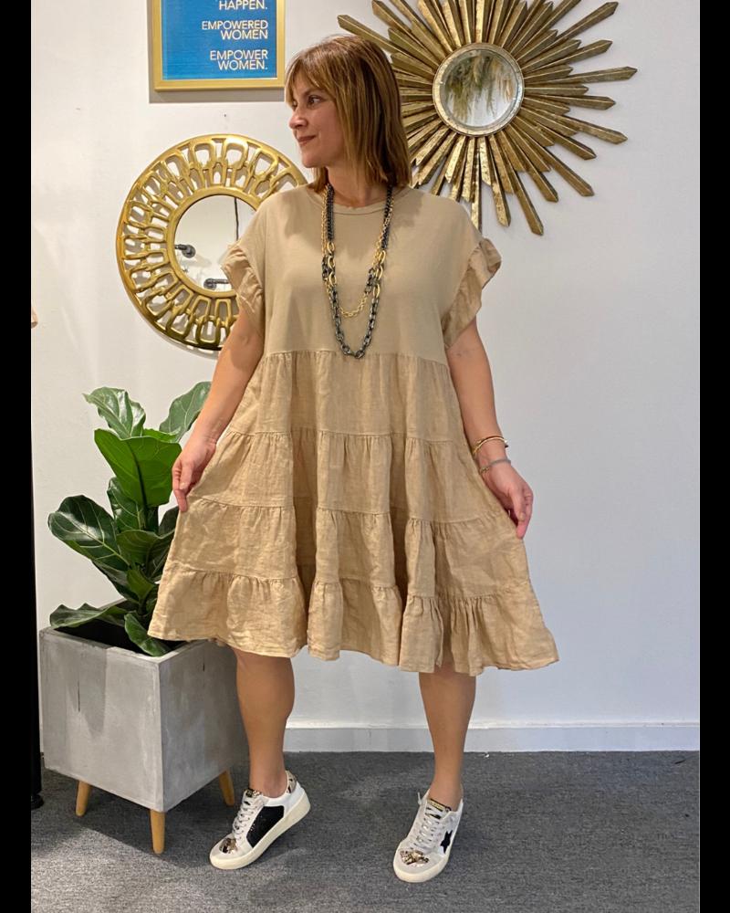 Swing Linen Dress