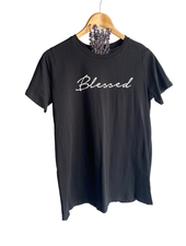 """""""Blessed"""" Graphid Top"""
