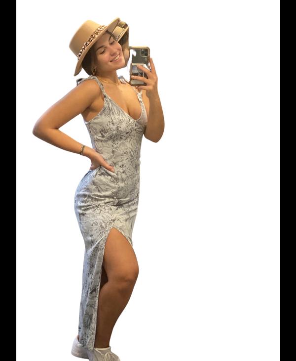 Caro Print Dress