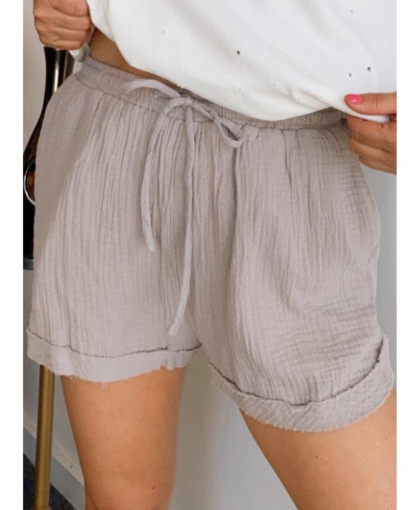 Gauze Shorts