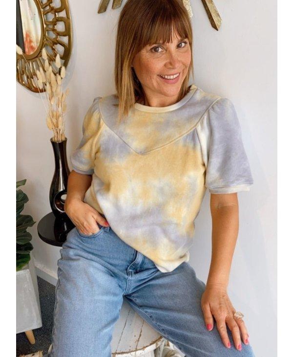 Tie Dye Knit Sweatshirts