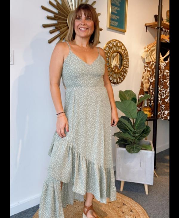Open Back Asymmetrical Dress