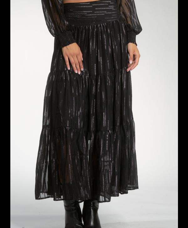 Shimmering Maxi Skirt