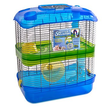 """Critter Ware Critter Ware Critter Universe 2 Level Cage 16""""x9""""x19"""""""